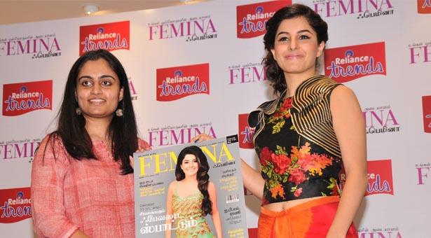 ishal talwar launches femina tamil august