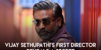 Vijay Sethupathi's first director reveals a secret, cj bhaskar