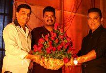 Kamal Haasan, Shankar and Dil Raju for Indian 2