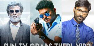 Sun TV Grabs Theri, VIP 2, kabali satellite Rights