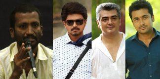 Ajith, Vijay, Suriya rejected in different ways - Suseenthiran