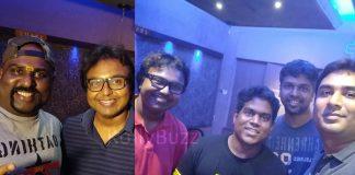 Yuvan Shankar Raja and Yogi B team up for Tik Tik Tik Theme