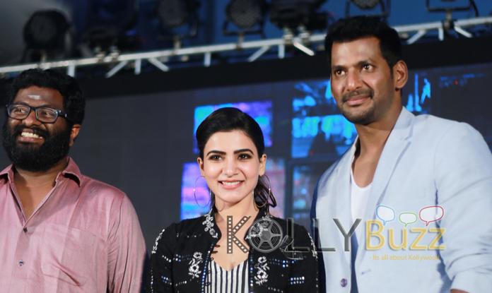 Irumbuthirai Teaser Launch Photos