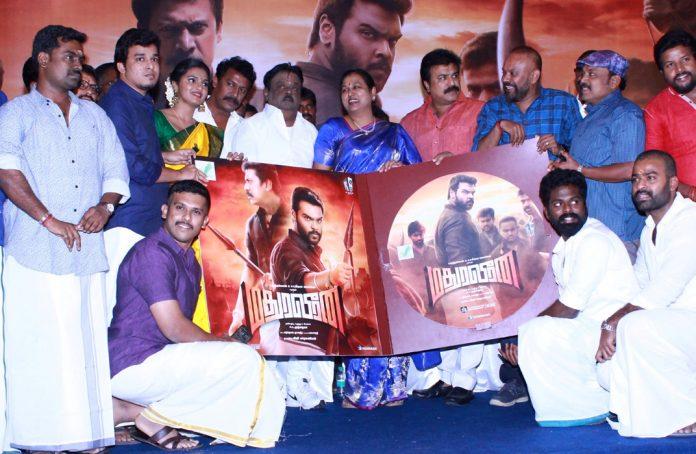 MadhuraVeeran Audio Launch Stills, ShanmugaPandiyan, Samuthirakani,P.G.Muthiah.