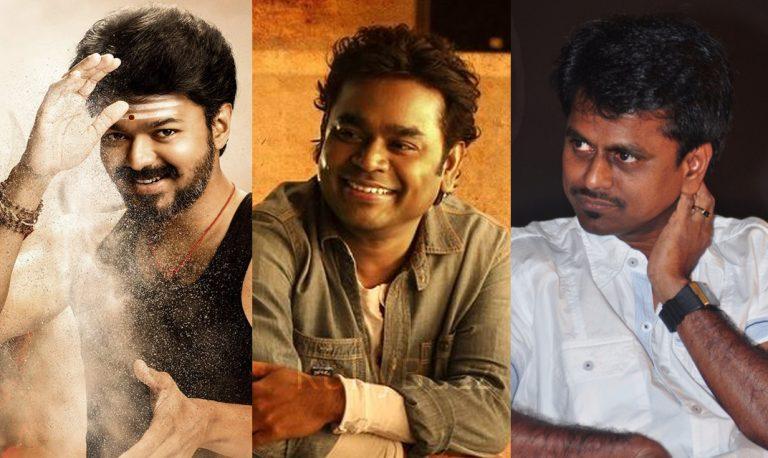 AR Rahman onboard for Vijay – AR Murugadoss film Vijay 62