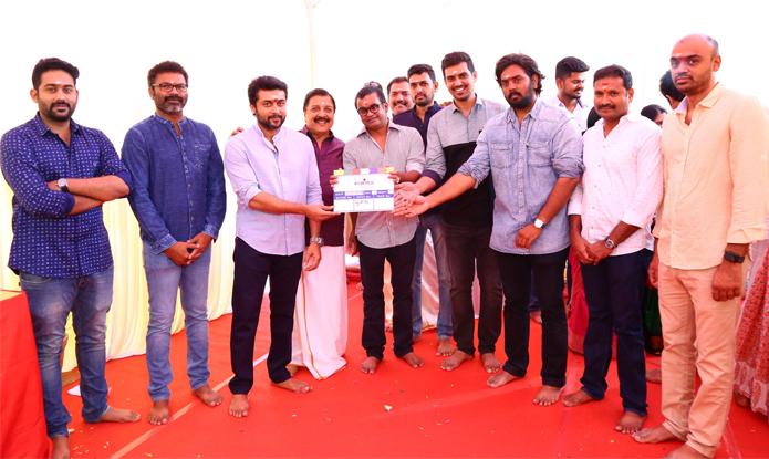Suriya 36 Movie Pooja Stills, Suriya 36, Suriya, Selvaraghavan, Suriya 36 Movie Pooja