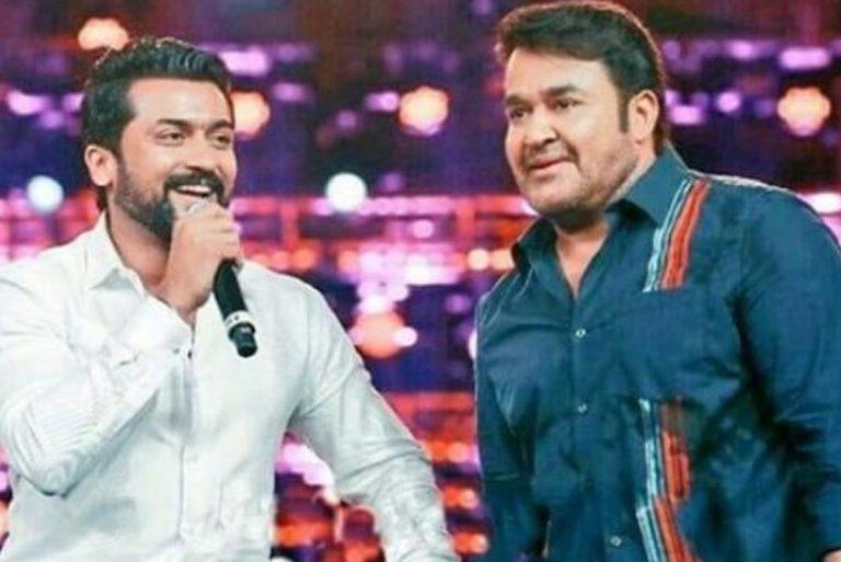 Mohanlal goes for Suriya 37 test shoot in Kerala