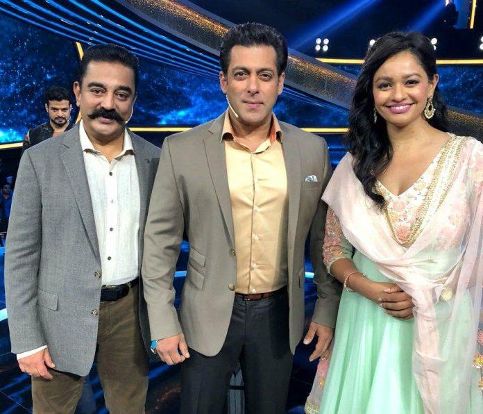 Actor Kamal Haasan promotes Vishwaroop 2 Salman Khan Dus Ka Dum