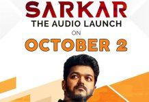 Vijay's Sarkar audio launch confirmed on October 2