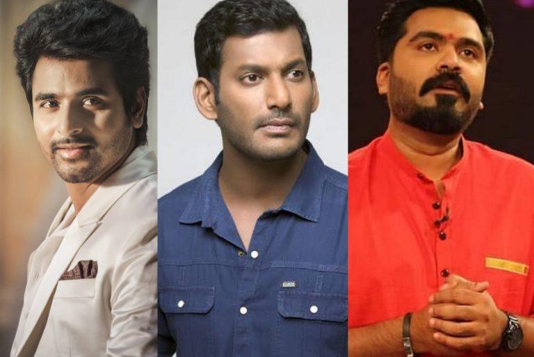 STR, Sivakarthikeyan, Vishal and Robo Shankar miss voting